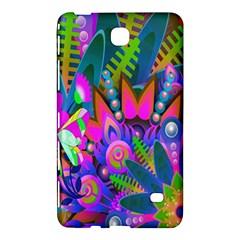 Wild Abstract Design Samsung Galaxy Tab 4 (8 ) Hardshell Case  by Simbadda