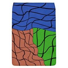 Abstract Art Mixed Colors Flap Covers (s)  by Simbadda