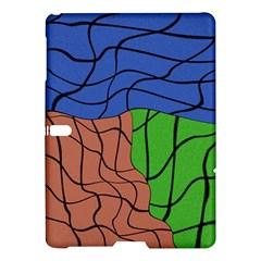 Abstract Art Mixed Colors Samsung Galaxy Tab S (10 5 ) Hardshell Case  by Simbadda