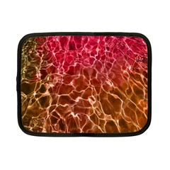 Background Water Abstract Red Wallpaper Netbook Case (small)  by Simbadda
