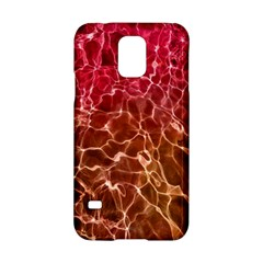 Background Water Abstract Red Wallpaper Samsung Galaxy S5 Hardshell Case  by Simbadda