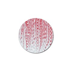 Abstract Swirling Pattern Background Wallpaper Pattern Golf Ball Marker (4 Pack) by Simbadda