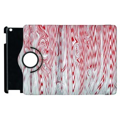 Abstract Swirling Pattern Background Wallpaper Pattern Apple Ipad 2 Flip 360 Case by Simbadda