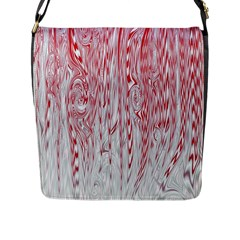 Abstract Swirling Pattern Background Wallpaper Pattern Flap Messenger Bag (l)  by Simbadda