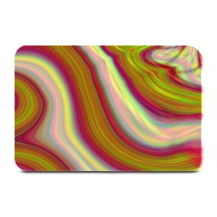 Artificial Colorful Lava Background Plate Mats by Simbadda