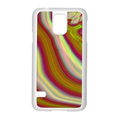 Artificial Colorful Lava Background Samsung Galaxy S5 Case (white) by Simbadda