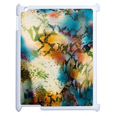 Abstract Color Splash Background Colorful Wallpaper Apple Ipad 2 Case (white) by Simbadda