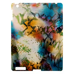 Abstract Color Splash Background Colorful Wallpaper Apple Ipad 3/4 Hardshell Case by Simbadda