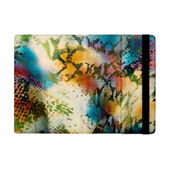 Abstract Color Splash Background Colorful Wallpaper Apple Ipad Mini Flip Case by Simbadda