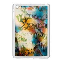 Abstract Color Splash Background Colorful Wallpaper Apple Ipad Mini Case (white) by Simbadda