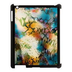 Abstract Color Splash Background Colorful Wallpaper Apple Ipad 3/4 Case (black) by Simbadda