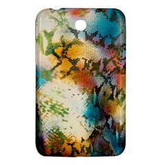Abstract Color Splash Background Colorful Wallpaper Samsung Galaxy Tab 3 (7 ) P3200 Hardshell Case  by Simbadda