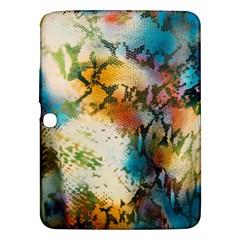Abstract Color Splash Background Colorful Wallpaper Samsung Galaxy Tab 3 (10 1 ) P5200 Hardshell Case  by Simbadda