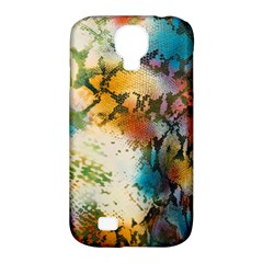 Abstract Color Splash Background Colorful Wallpaper Samsung Galaxy S4 Classic Hardshell Case (pc+silicone) by Simbadda