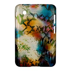 Abstract Color Splash Background Colorful Wallpaper Samsung Galaxy Tab 2 (7 ) P3100 Hardshell Case  by Simbadda