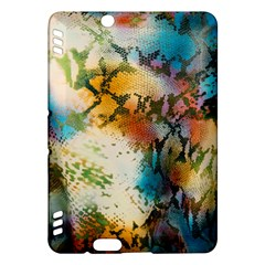 Abstract Color Splash Background Colorful Wallpaper Kindle Fire Hdx Hardshell Case by Simbadda