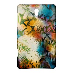 Abstract Color Splash Background Colorful Wallpaper Samsung Galaxy Tab S (8 4 ) Hardshell Case  by Simbadda