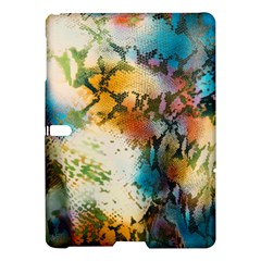 Abstract Color Splash Background Colorful Wallpaper Samsung Galaxy Tab S (10 5 ) Hardshell Case  by Simbadda
