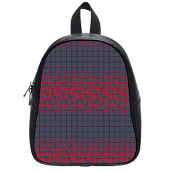 Abstract Tiling Pattern Background School Bags (small)  by Simbadda