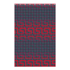 Abstract Tiling Pattern Background Shower Curtain 48  X 72  (small)  by Simbadda