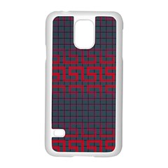Abstract Tiling Pattern Background Samsung Galaxy S5 Case (white) by Simbadda