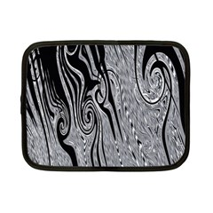 Abstract Swirling Pattern Background Wallpaper Netbook Case (small)  by Simbadda
