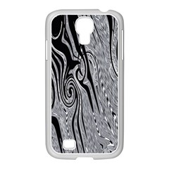 Abstract Swirling Pattern Background Wallpaper Samsung Galaxy S4 I9500/ I9505 Case (white) by Simbadda