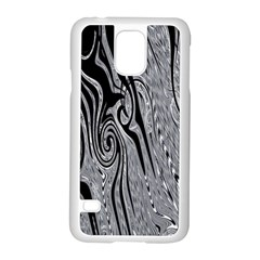 Abstract Swirling Pattern Background Wallpaper Samsung Galaxy S5 Case (white) by Simbadda
