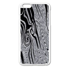 Abstract Swirling Pattern Background Wallpaper Apple Iphone 6 Plus/6s Plus Enamel White Case by Simbadda