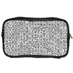 Abstract Knots Background Design Pattern Toiletries Bags 2-Side by Simbadda
