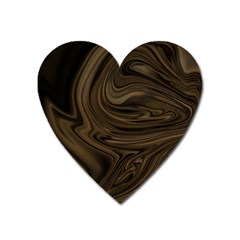 Abstract Art Heart Magnet by Simbadda
