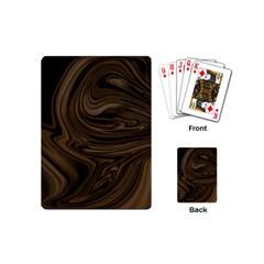 Abstract Art Playing Cards (mini)  by Simbadda