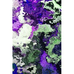 Background Abstract With Green And Purple Hues 5 5  X 8 5  Notebooks by Simbadda