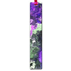 Background Abstract With Green And Purple Hues Large Book Marks by Simbadda