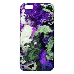 Background Abstract With Green And Purple Hues Iphone 6 Plus/6s Plus Tpu Case by Simbadda