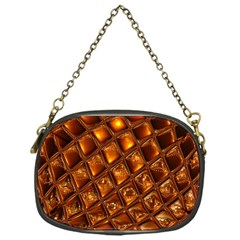 Caramel Honeycomb An Abstract Image Chain Purses (one Side)  by Simbadda