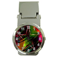 Colorful Background Star Money Clip Watches by Simbadda