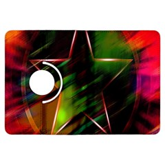 Colorful Background Star Kindle Fire Hdx Flip 360 Case by Simbadda