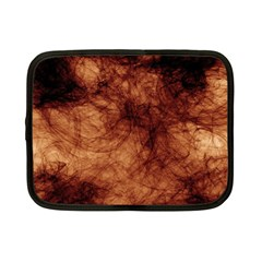 Abstract Brown Smoke Netbook Case (small)  by Simbadda