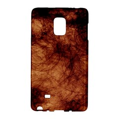 Abstract Brown Smoke Galaxy Note Edge by Simbadda