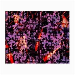 Abstract Painting Digital Graphic Art Small Glasses Cloth by Simbadda