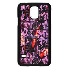 Abstract Painting Digital Graphic Art Samsung Galaxy S5 Case (black) by Simbadda