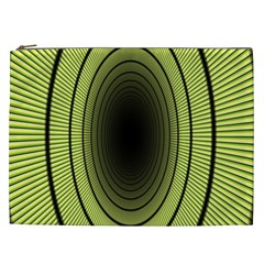 Spiral Tunnel Abstract Background Pattern Cosmetic Bag (xxl)  by Simbadda