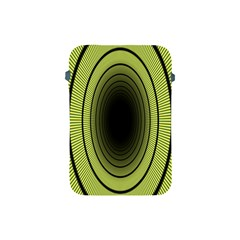 Spiral Tunnel Abstract Background Pattern Apple Ipad Mini Protective Soft Cases by Simbadda