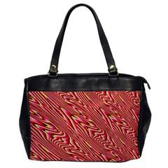 Abstract Neutral Pattern Office Handbags by Simbadda