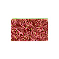 Abstract Neutral Pattern Cosmetic Bag (xs) by Simbadda
