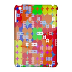 Abstract Polka Dot Pattern Digitally Created Abstract Background Pattern With An Urban Feel Apple Ipad Mini Hardshell Case (compatible With Smart Cover) by Simbadda