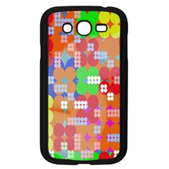 Abstract Polka Dot Pattern Digitally Created Abstract Background Pattern With An Urban Feel Samsung Galaxy Grand Duos I9082 Case (black) by Simbadda