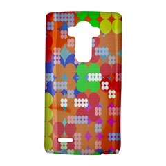 Abstract Polka Dot Pattern Digitally Created Abstract Background Pattern With An Urban Feel Lg G4 Hardshell Case by Simbadda