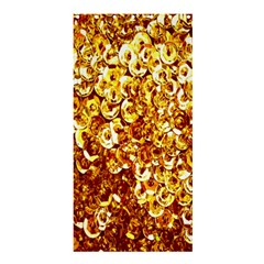Yellow Abstract Background Shower Curtain 36  X 72  (stall)  by Simbadda